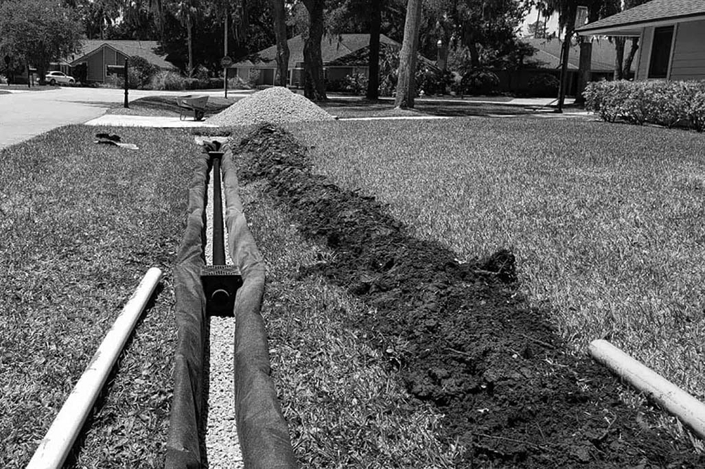 What I Learned About Myself by Building a French Drain…